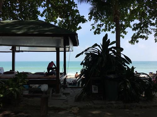 今日のサムイ島 12月24日チャウエンビーチ