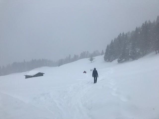 Snowstorm in Alto Adige