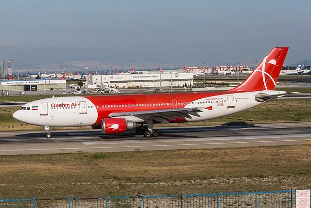 EP-FQM, Airbus A300B4-605R Qeshm Air @ Istanbul IST LTBA