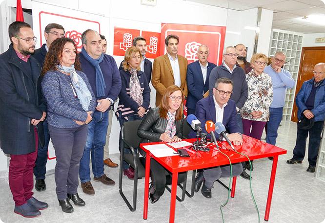 El PSOE da por roto el pacto de Gobierno con MC
