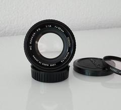 MINOLTA MC 50mm 1.4