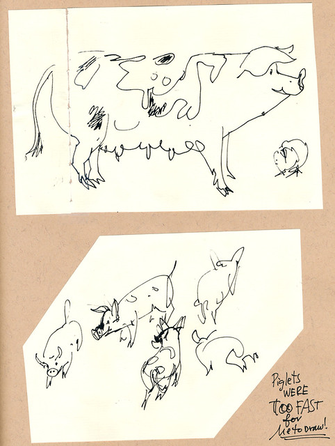 Sketchbook #109: Visiting Pigs