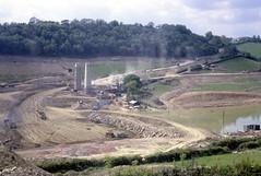 Llandegfedd Reservoir construction 1960s
