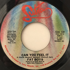 FAT BOYS:CAN YOU FEEL IT()LABEL SIDE-A