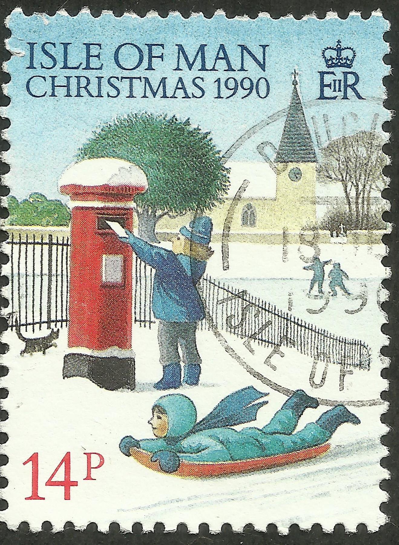 Isle of Man - Scott #436 (1990)