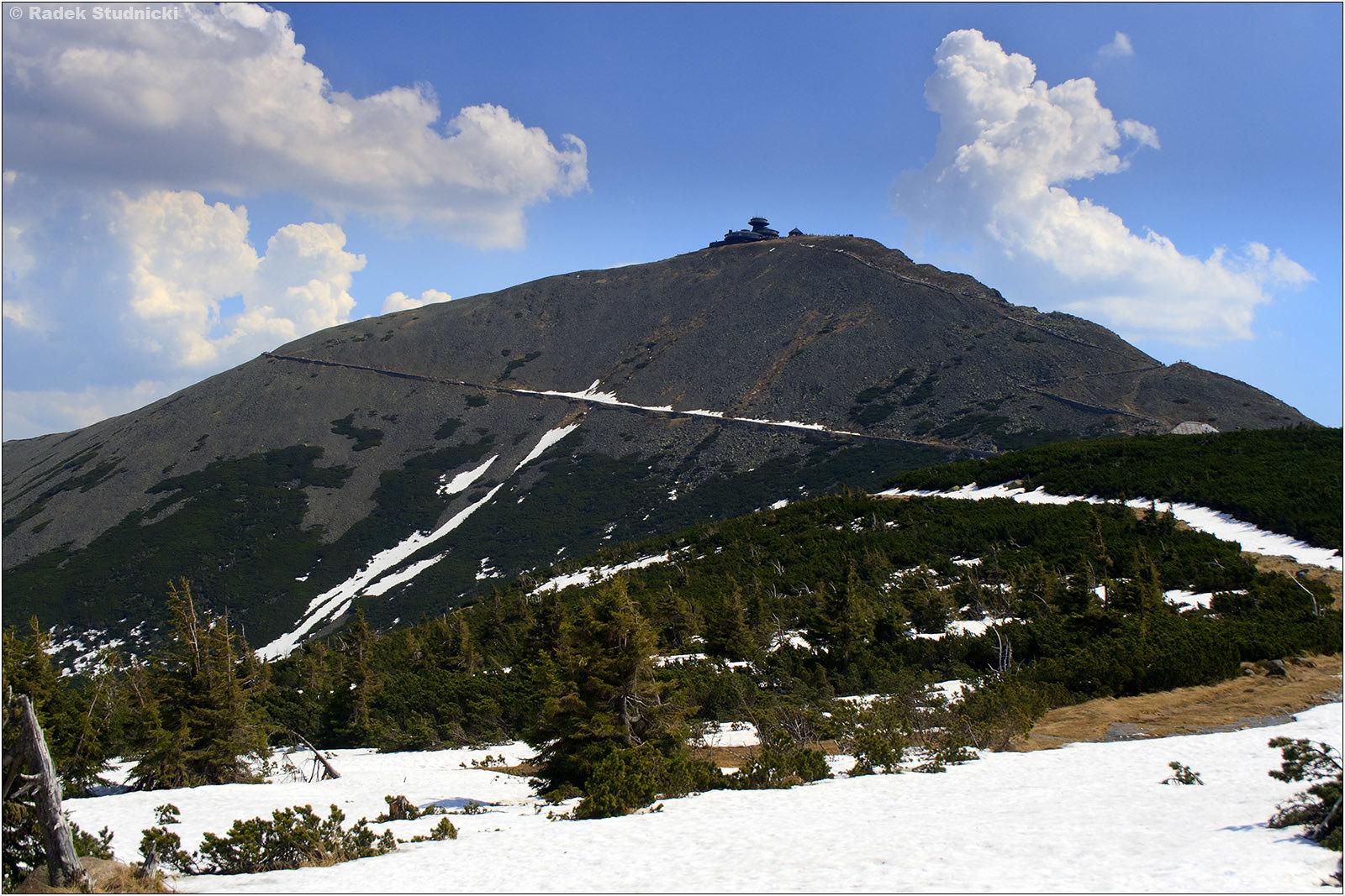 Śnieżka, najwyższy szczyt Sudetów