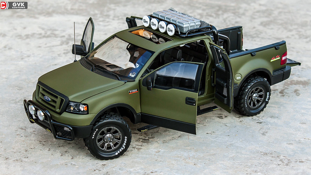 F150 Custom Parts >> The Mighty Ford F150 Off-road (Custom) - DX Modelwerks Showcase - DiecastXchange.com Diecast ...