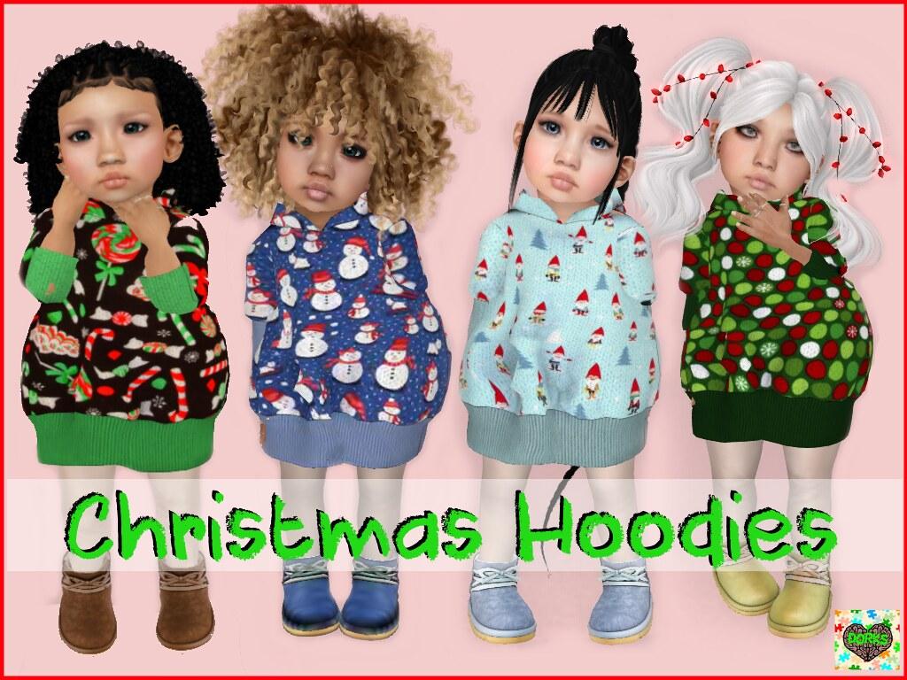 **DoRks** Christmas Hoodies @ Thimble