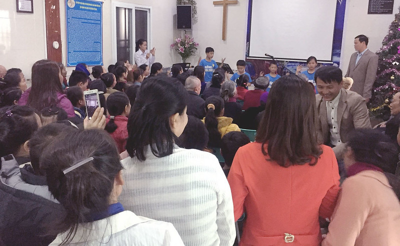 Hội Thánh Nghệ An - Giáng sinh có 160 người tham dự (1)