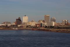 Memphis from Big River Crossing