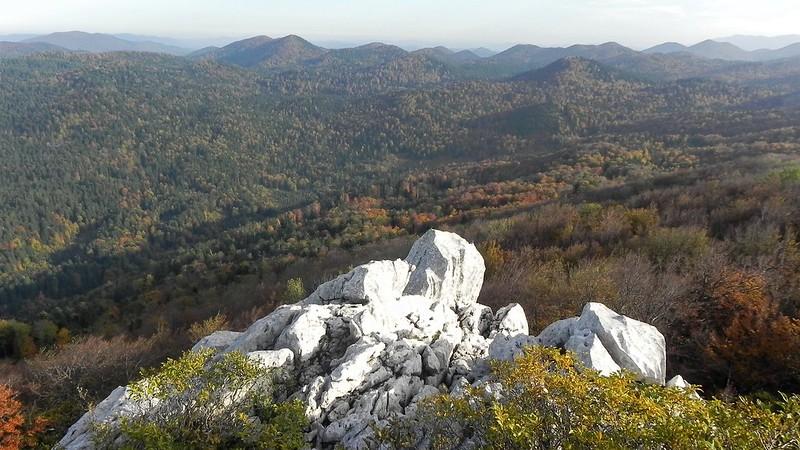 Kolovratske Stijene 1090 m, CROATIA, October 2012