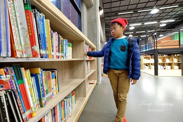 【台北親子免費景點】新北市立圖書館江子翠分館兒童室5