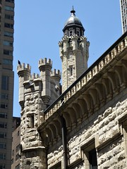 Chicago, Water Tower, Detail