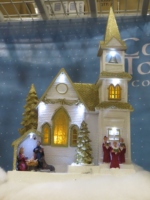 Christmas Village Church 2