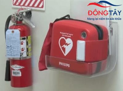 Máy khử rung tim công cộng – cấp cứu cho những người bị ngưng tim đột ngột