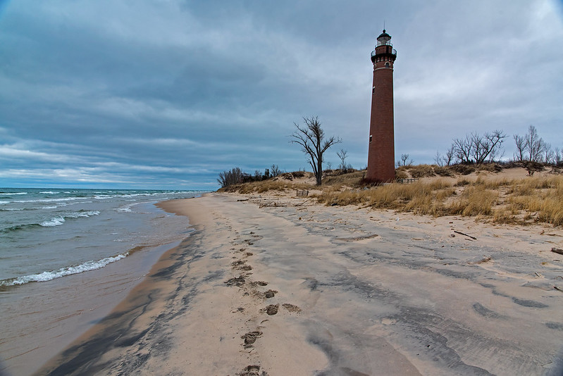 Morning at Little Sable Point