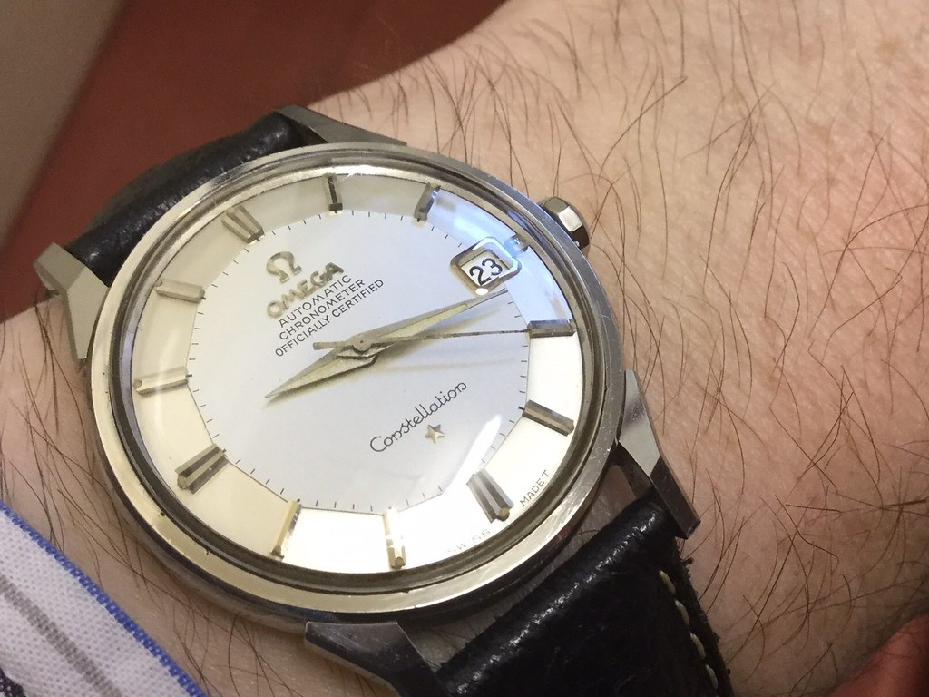 Omega Pie pan Constellation cal 551 circa 1965