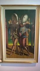"""""""Ettore e Andromaca"""" di Giorgio de Chirico."""