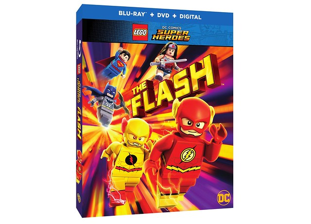 LEGO DC Comics Super Heroes The Flash Movie