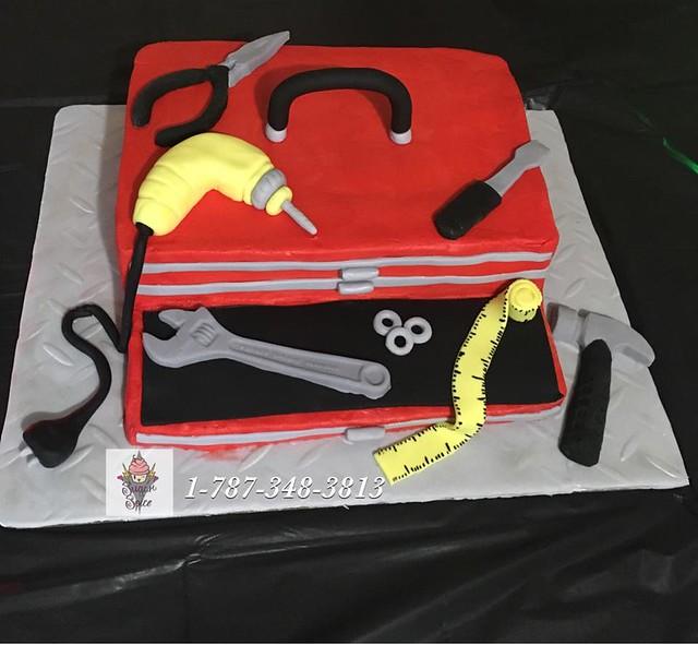 Tool Box Cake by Sugar & Spice