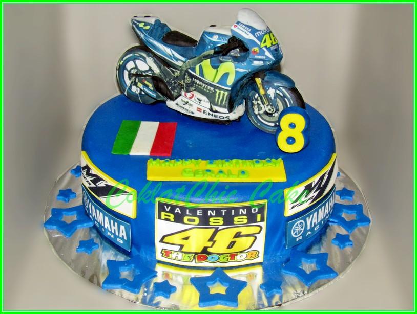 Cake Yamaha M1 VR46 GERALD 22cm
