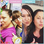 Duck face 3 years ago and now. Thanks for being a BFF @amyrnr !!😂😂 by bartlewife