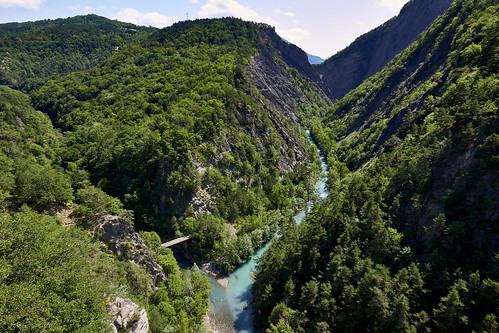 Le Drac du Pont de Ponsonnas (103 m de haut)