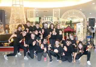 Flashmob '¡El Rey! La Leyenda del León'