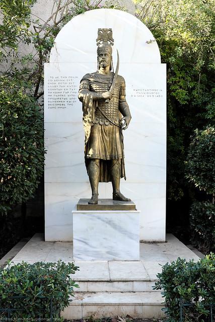 Constantine XI / Statue
