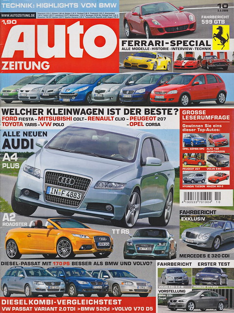 Auto Zeitung 10/2006
