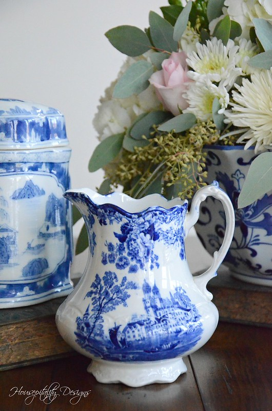 Blue and White Vignette-Housepitality Designs-10