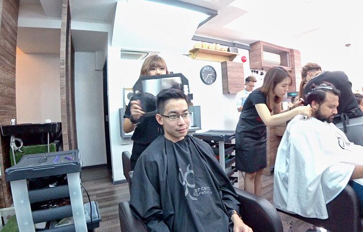 scalp treatment 99 percent hair studio