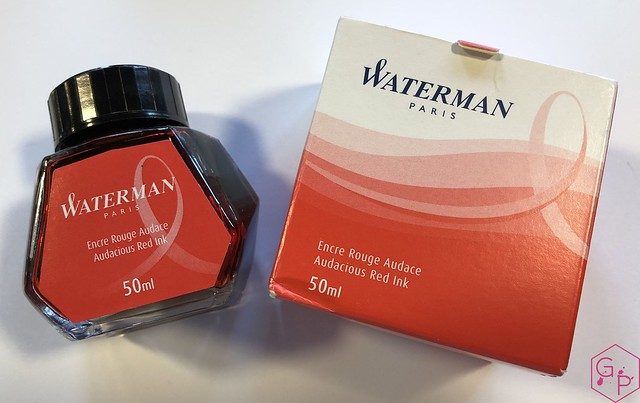 Ink Shot Review Waterman Audacious Red @KnightsWritingC 3