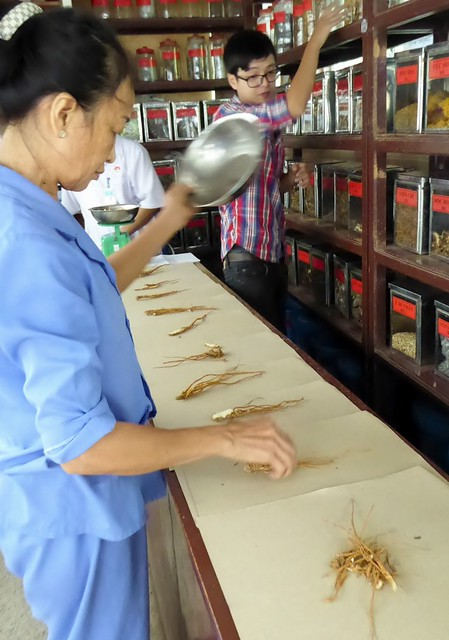Because of the high cost of traditional Chinese medicine, a nominal fee is charged.