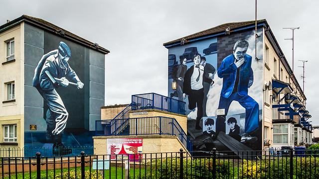 UK - Northern Ireland - Londonderry - Bogside