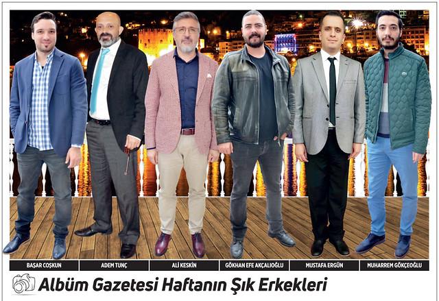 Başar Coşkun, Adem Tunç, Ali Keskin, Gökhan Efe Akçalıoğlu, Mustafa Ergün, Muharrem Gökçeoğlu
