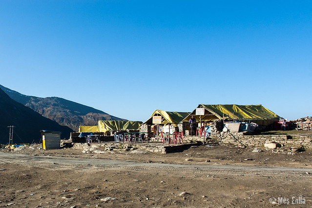 Restaurantes en la ruta Manali a Leh