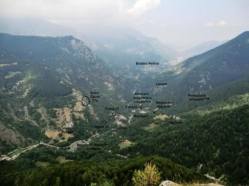 Vallo Alpino: Caposaldo Ferrera (Bobbio Pellice)