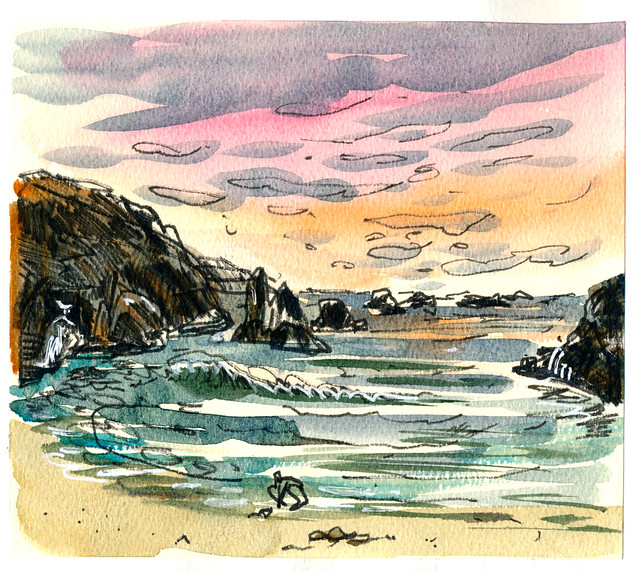 Sketchbook #110: Trip to the Ocean