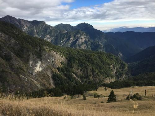 三六九山莊前的美景