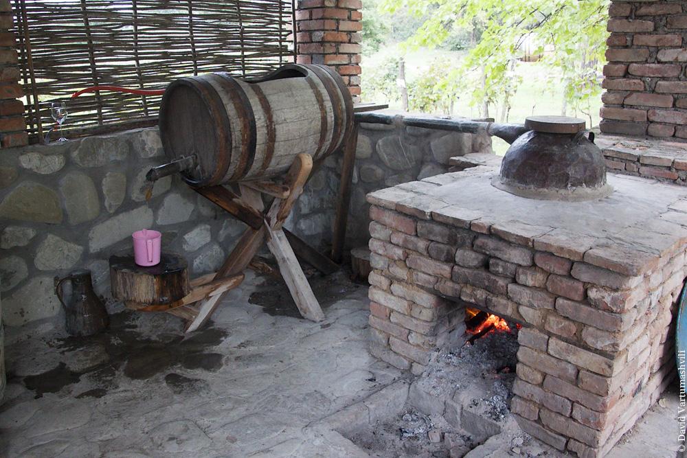 Цинандали, винзавод Шуми / Tsinandali, Shumi