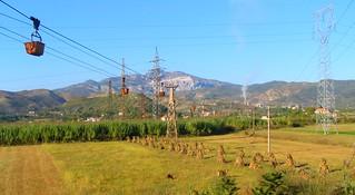 Freight ropeway in Elbasan