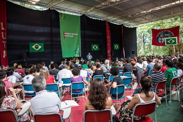 2ª Conferência Nacional da Frente Brasil Popular, na Escola Nacional Florestan Fernandes (ENFF), em Guararema, nos dias 9 e 10 de dezembro - Créditos: Patrícia de Matos/Divulgação FBP
