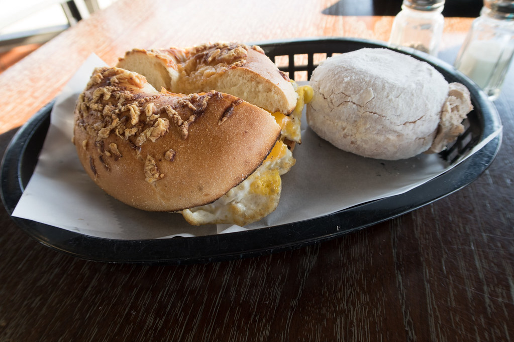 Breakfast Sandwiches at Yum Yum