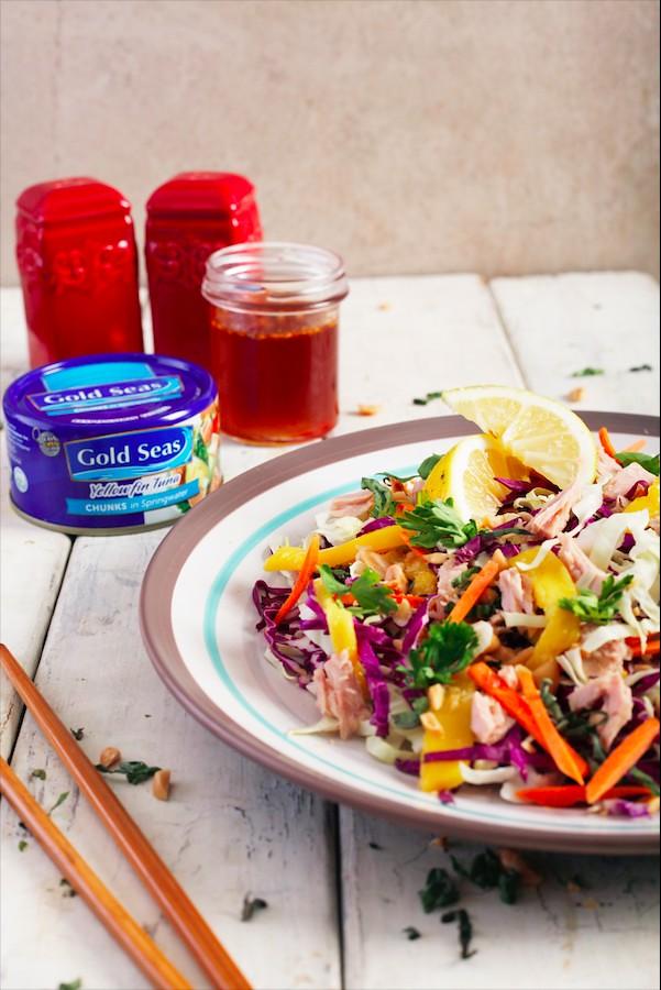 3. Tuna Thai Salad