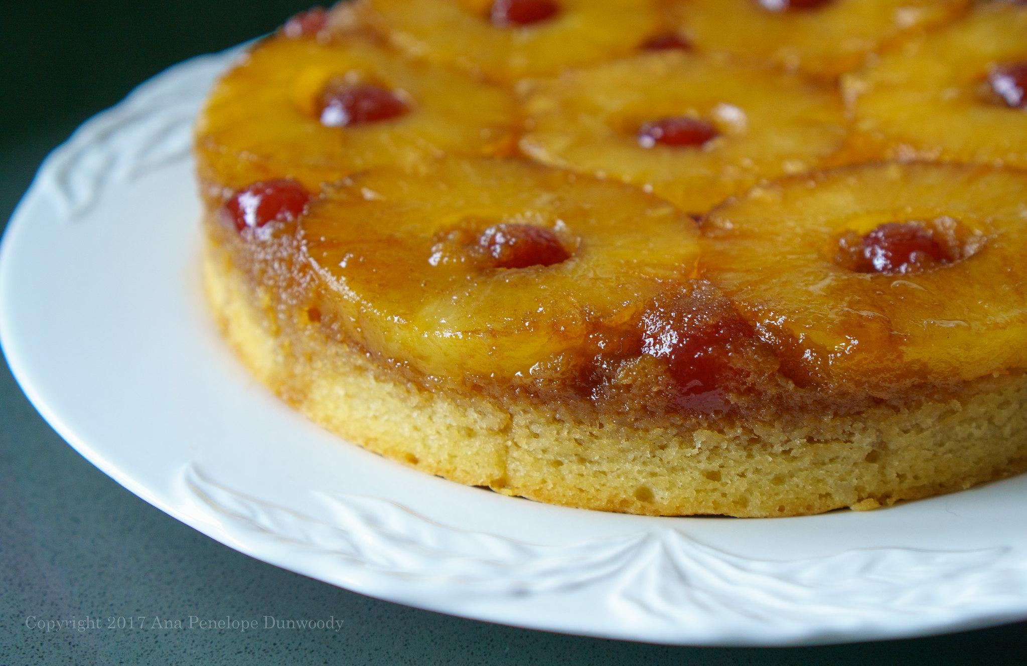 Pineapple Upside Down Cake #2