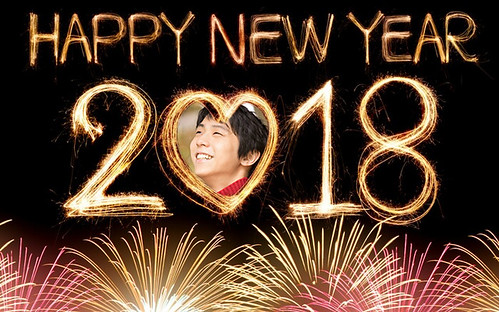 Happy New Year! Buon Anno Yuzuru Hanyu