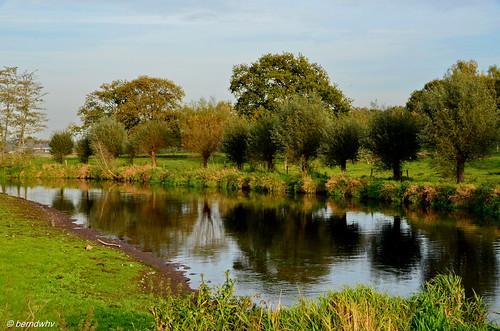 Niederlande / Flusslandschaft an der Niers bei Ven-Zelderheide (1)
