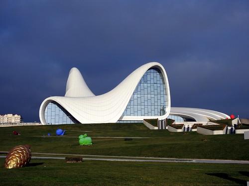 Baku (Azerbaijan) - Centro culturale Heydar Aliyev di Zaha Hadid