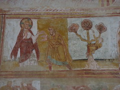 The abbey church of Saint-Savin: Nave roof frescoes - Photo of Saint-Savin